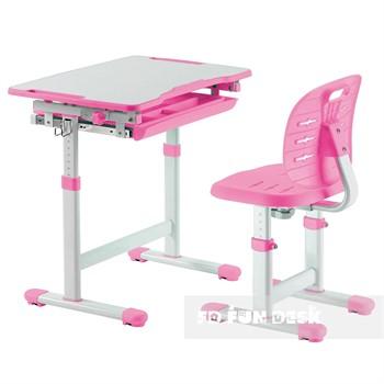 Детские комплекты парта+стул растишки (4-12лет)
