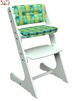 Комплект подушек для стула Конек Горбунек Комфорт арлекино-зима - фото 25886