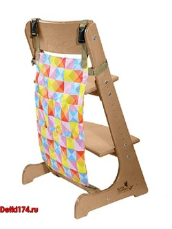 Карман для игрушек на стул Конёк Горбунёк арлекино-лето - фото 25905