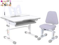 Комплект парта и стул с чехлом Rifforma SET-07 Lux+Лампа с дисплеем - фото 6819