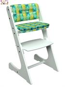 Комплект подушек для стула Конек Горбунек Комфорт арлекино-зима