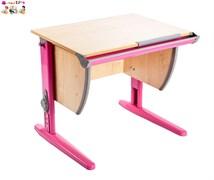 Модульная стенка Дэми + стул + парта 14-01 с рис. Фрегат/Цветы